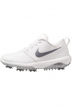 Nike Golf ROSHE G TOUR - Golfschoenen summit white/metallic cool greyNIKE101755
