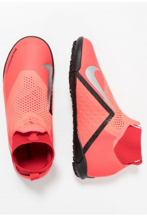 Nike PHANTOM OBRAX 3 ACADEMY DF TF - Voetbalschoenen voor kunstgras bright crimson/metallic silver/university red/blackNIKE303688