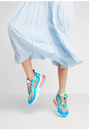 Nike AIR MAX 270 REACT - Sneakers laag electro green/flash crimson/blue lagoon/hyper jade/lavender mist/sunset pulseNIKE101291
