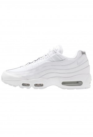 Nike AIR MAX 95 ESSENTIAL - Sneakers laag white/pure platinum/reflect silver/blackNIKE202265