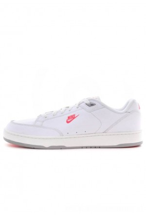 Nike Sneakers laag white/solar red-wolf greyNIKE202584