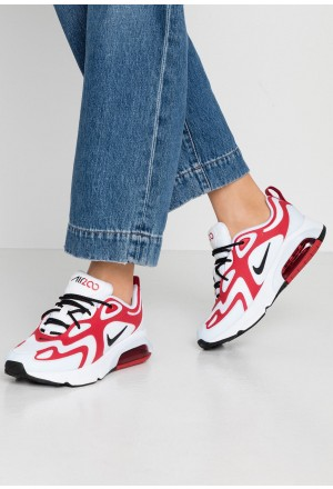 Nike AIR MAX 200 - Sneakers laag white/black/gym red/half blueNIKE101272