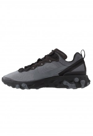 Nike REACT 55 SE - Sneakers laag - black/dark grey black/dark greyNIKE202341