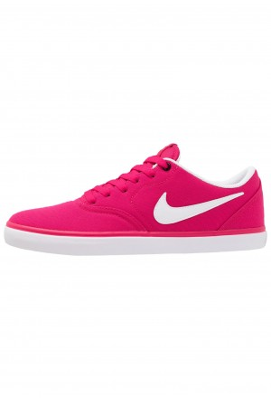 Nike SB CHECK SOLAR - Sneakers laag rush pink/whiteNIKE101400