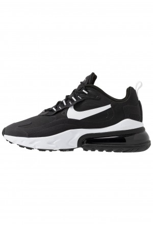 Nike AIR MAX 270 REACT - Sneakers laag black/whiteNIKE202297