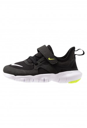 Nike FREE RN 5.0 - Trail hardloopschoenen black/white/anthracite/voltNIKE303647