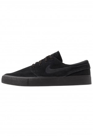 Nike SB ZOOM JANOSKI - Sneakers laag black/photo blue/hyper pinkNIKE202287