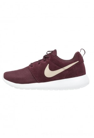 Nike ROSHE ONE  - Sneakers laag deep burgundy/sand dune/summit whiteNIKE202611