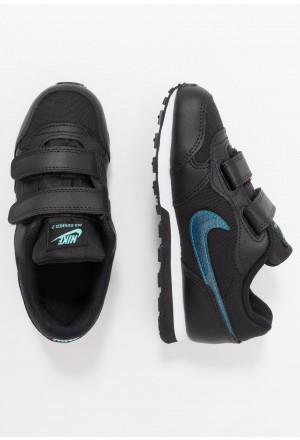 Nike MD RUNNER - Sneakers laag black/blue hero/anthracite/aurora greenNIKE303477