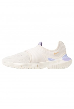 Nike FREE RN FLYKNIT 3.0 - Loopschoen neutraal light cream/celestial gold/purple agateNIKE101823