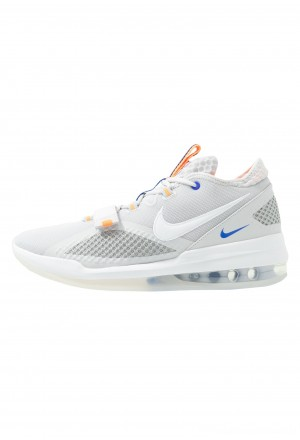 Nike AIR FORCE MAX LOW - Basketbalschoenen vast grey/white/wolf grey/total orangeNIKE203036