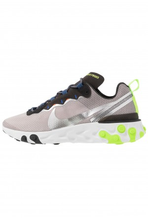 Nike REACT 55 SE - Sneakers laag pumice/metalic silver/total orange/summit white/blackNIKE202340