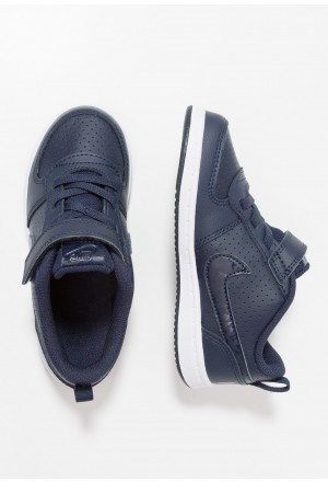 Nike COURT BOROUGH  - Babyschoenen obsidian/whiteNIKE303793