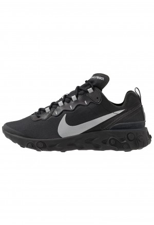 Nike REACT 55 - Sneakers laag black/anthraciteNIKE202299
