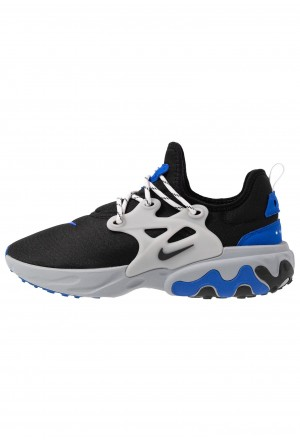 Nike REACT PRESTO - Sneakers laag black/racer blue/atmosphere greyNIKE202446