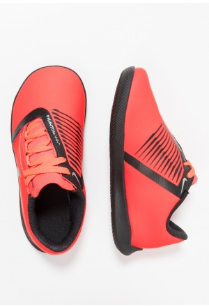Nike PHANTOM CLUB IC - Zaalvoetbalschoenen bright crimson/black/metallic silverNIKE303668