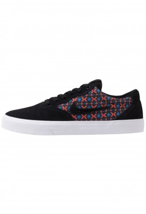 Nike SB CHRON SLR PRM - Sneakers laag black/geode teal/bright crimson/whiteNIKE202567