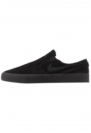 Nike SB ZOOM JANOSKI - Instappers black/photo blue/hyper pinkNIKE202661