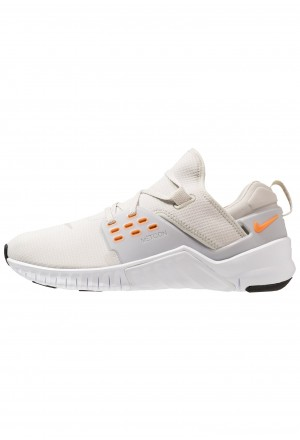 Nike FREE METCON 2 - Loopschoen neutraal light bone/orange peel/white/blackNIKE202796