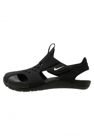 Nike SUNRAY PROTECT  - Badslippers black/whiteNIKE303761
