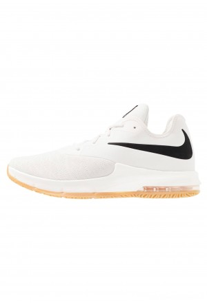 Nike AIR MAX INFURIATE III LOW - Basketbalschoenen phantom/black/wolf grey/light brown/voltNIKE202839