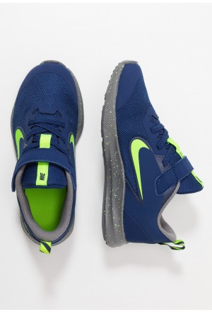 Nike DOWNSHIFTER 9 - Hardloopschoenen neutraal blue void/electric green/gunsmokeNIKE303769