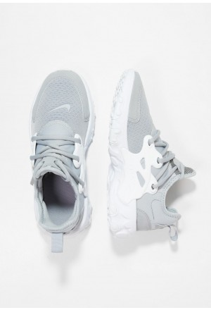 Nike REACT PRESTO - Sneakers laag wolf grey/whiteNIKE303322