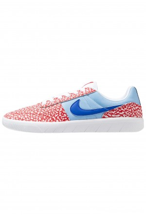 Nike SB TEAM CLASSIC - Skateschoenen white/game royal/psychic blue/university redNIKE202544