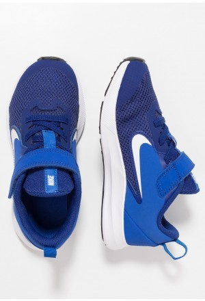 Nike DOWNSHIFTER 9  - Hardloopschoenen neutraal deep royal blue/white/game royal/blackNIKE303579