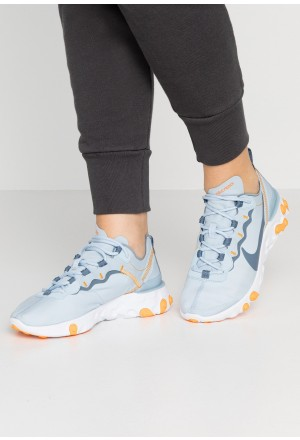 Nike REACT 55 - Sneakers laag light armory blue/white/orange peelNIKE101347