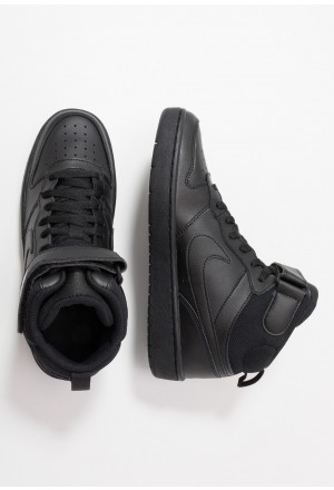 Nike COURT BOROUGH MID - Sneakers hoog blackNIKE303241