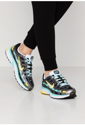 Nike P-6000 - Sneakers laag black/white/aurora green/amber rise/metallic dark grey/chrome yellowNIKE101243