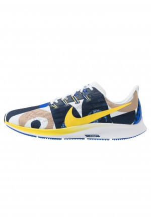 Nike AIR ZOOM PEGASUS 36 CODY - Hardloopschoenen neutraal hyper royal/chrome yellow/white/obsidianNIKE202817