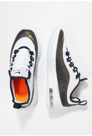 Nike AIR MAX AXIS - Sneakers laag white/total orange/obsidian/amarilloNIKE303285