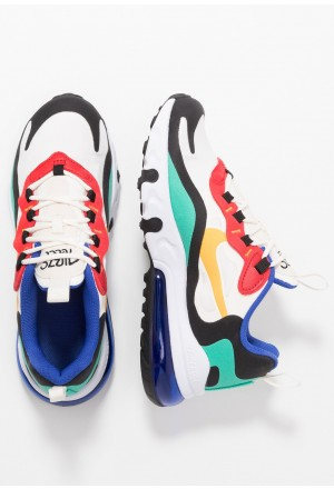 Nike AIR MAX 270 REACT - Sneakers laag phantom/university gold/kinetic green/university redNIKE303253