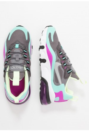 Nike AIR MAX 270 RT - Instappers gunsmoke/reflect silver/aurora green/hyper violetNIKE303509