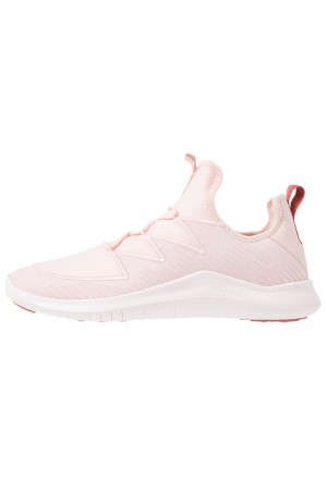 Nike HYPERFLORA FREE TR ULTRA - Sportschoenen echo pink/light soft pink/light redwood/oil greyNIKE101758