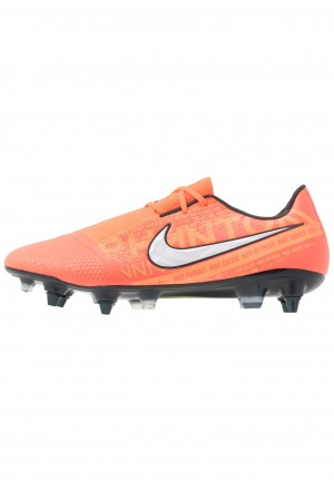 Nike PHANTOM ELITE SG-PRO AC - Voetbalschoenen met metalen noppen bright mango/white/orange pulse/anthraciteNIKE202969