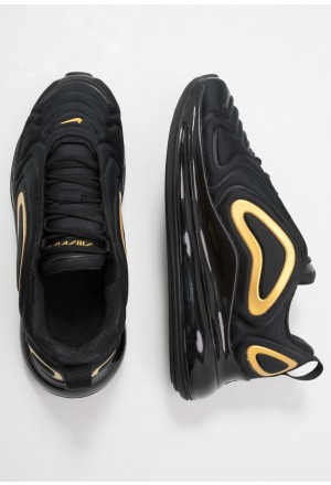 Nike AIR MAX 720 - Sneakers laag black/mtetallic goldNIKE303389
