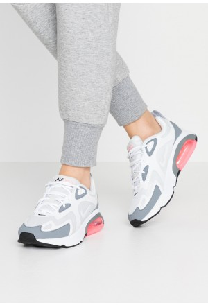 Nike AIR MAX 200 - Sneakers laag pure platinum/white/cool grey/sunset pulse/blackNIKE101273