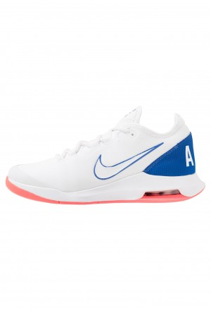 Nike AIR MAX WILDCARD  - Tennisschoenen voor alle ondergronden white/game royal/flash crimsonNIKE202934