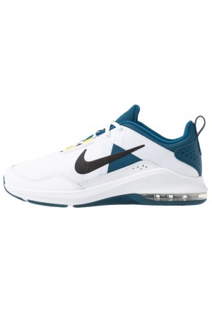 Nike AIR MAX ALPHA TRAINER 2 - Sportschoenen white/black/blue force/dynamic yellowNIKE202718