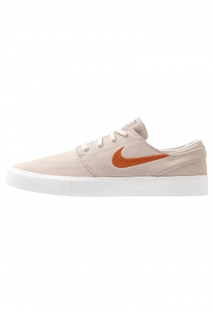 Nike SB ZOOM JANOSKI - Sneakers laag desert sand/dark russet/summit white/light brown/photo blue/hyper pinkNIKE202289
