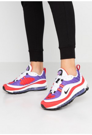 Nike AIR MAX 98 - Sneakers laag psychic purple/black/university red/whiteNIKE101254