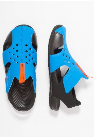 Nike SUNRAY PROTECT  - Badslippers photo blue/bright crimson/blackNIKE303764