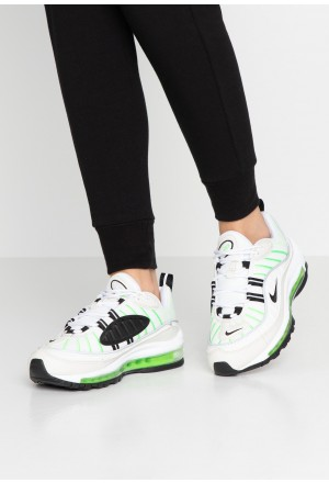 Nike AIR MAX 98 - Sneakers laag summit white/black/phantom/electric greenNIKE101258