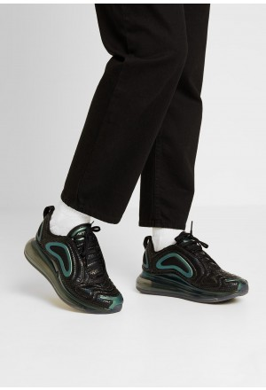 Nike AIR MAX 720 - Sneakers laag black/metallic silverNIKE101380