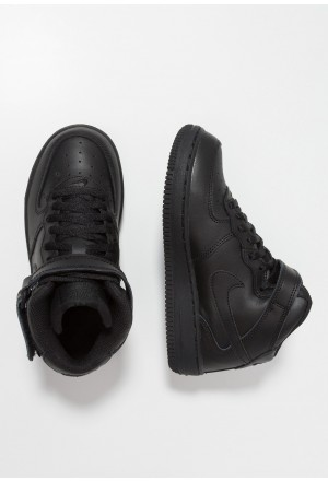 Nike AIR FORCE 1 MID - Sneakers hoog blackNIKE303301