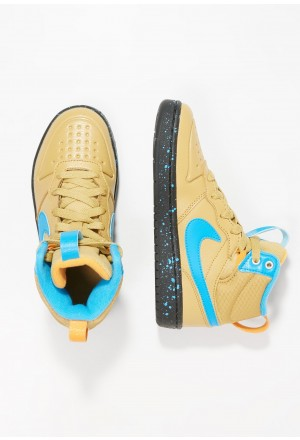 Nike Sneakers hoog club gold/blue hero/kumquat/blackNIKE303289