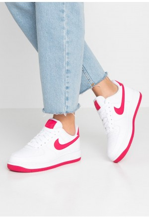 Nike AIR FORCE 1'07 - Sneakers laag white/wild cherry/noble redNIKE101558